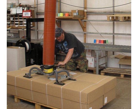 Vacuumheffer tilhulp voor grote dozen
