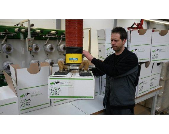 Vacuumheffer tilhulp voor zware dozen