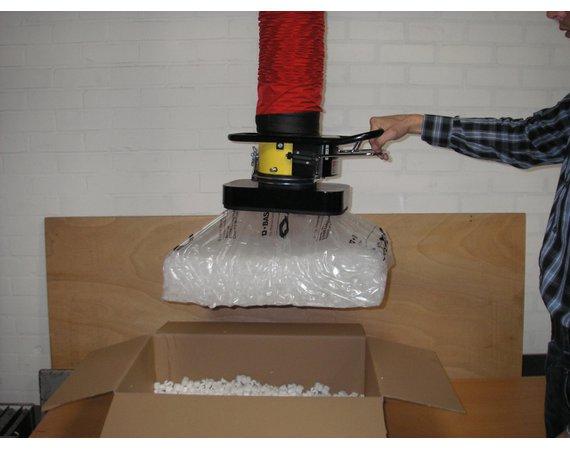 Vacuumheffer tilhulp voor zakken
