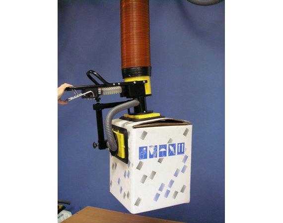 Vacuumheffer tilhulp voor dozen met zij-opname