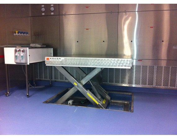 RVS Heftafel Inbouw in vloer