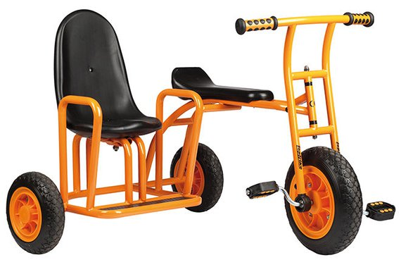 Driewieler met zijspan
