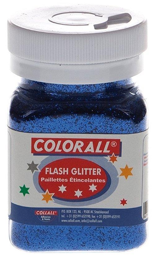 Pulverglitter blau
