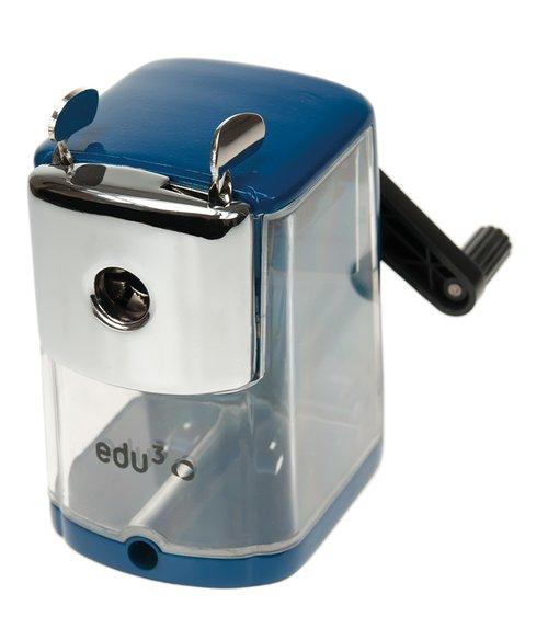 Anspitzer Kurbelmaschine für dicke und dünne Stifte, Metallgehäuse.