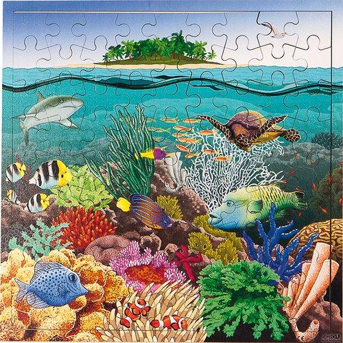 Puzzle interaktiv Korallensee