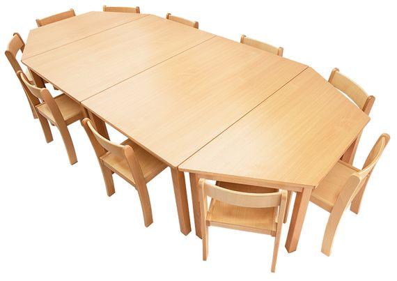 Tisch-Stuhl-Kombination Magno