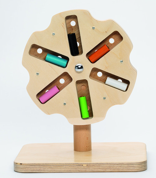 Rotating Wood Mill
