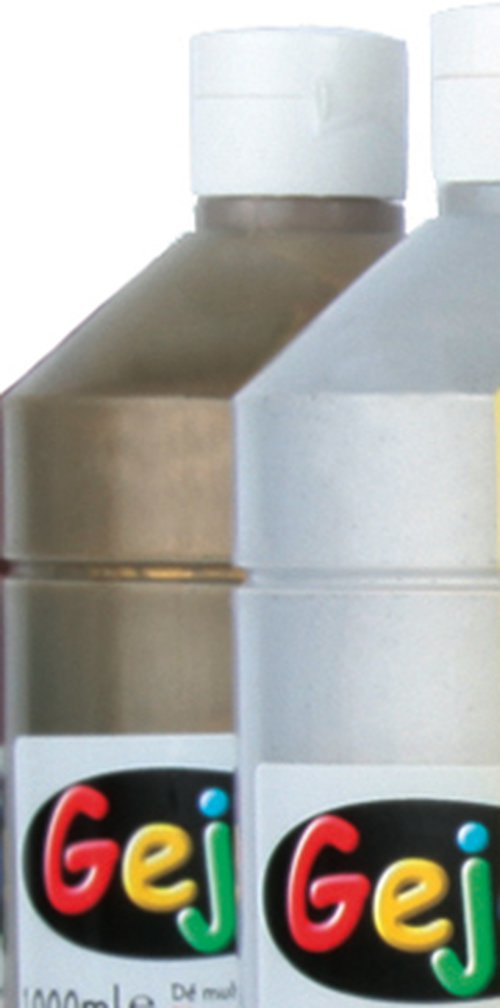 Gejocolor Sortiment gold und silber je 1000ml. in Vorteilspaket.