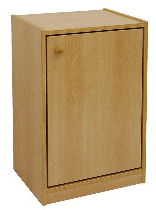 Schrank mit Tür Schrank mit Tür und 2 Fachböden