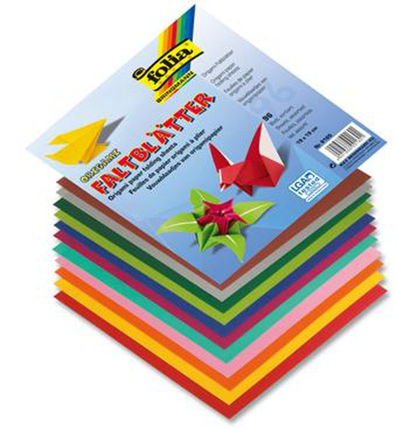 Origami-Faltblätter