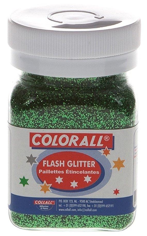 Glitter groen
