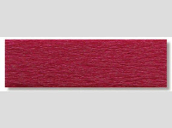 Crêpepapier donker rood 10 vouw
