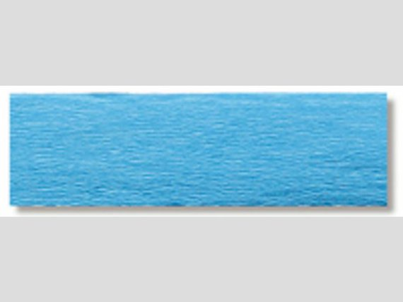 Krepppapier h-blau 10 Rollen