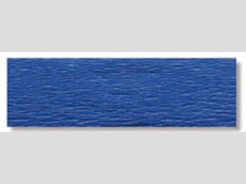 Crêpepapier donkerblauw * 10 vouw