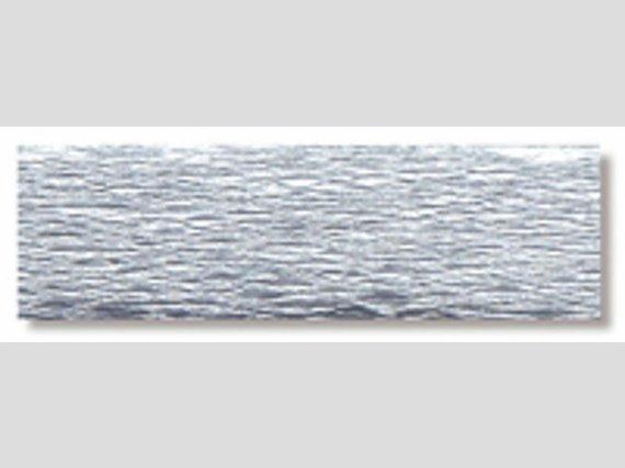 Crêpepapier zilver 5 rollen