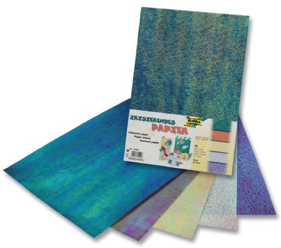 Iriserend papier