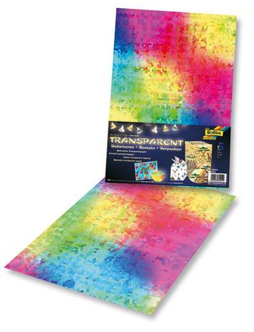 Transparentpapier Mosaiek