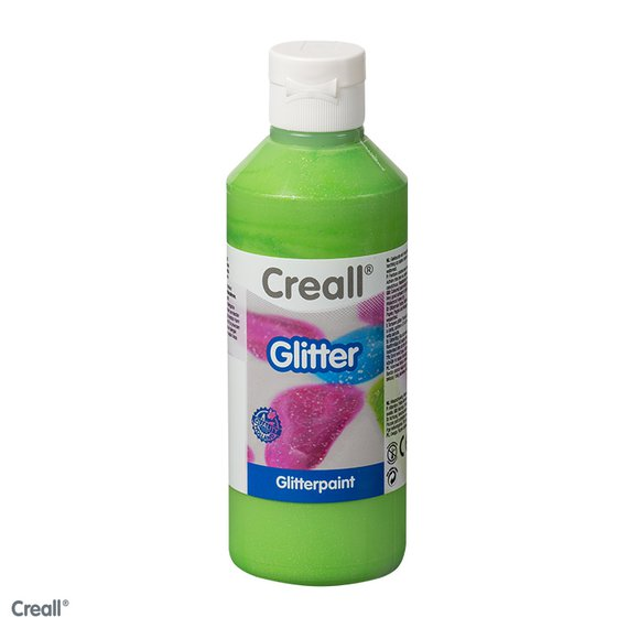 Creall-Glitter 250 ml, groen