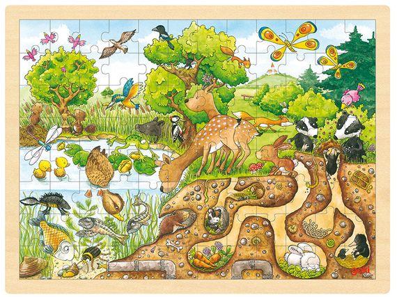 Puzzel Natuur