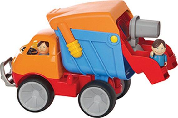 Vuilniswagen incl. figuren