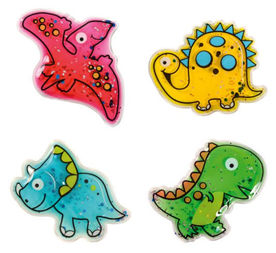 Flüssigkeitsformen Dinos