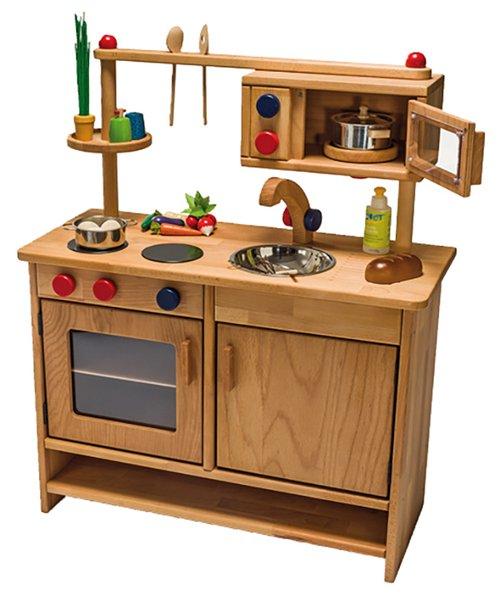 Spielküche mit Mikrowelle