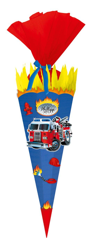 Schultüte Feuerwehr