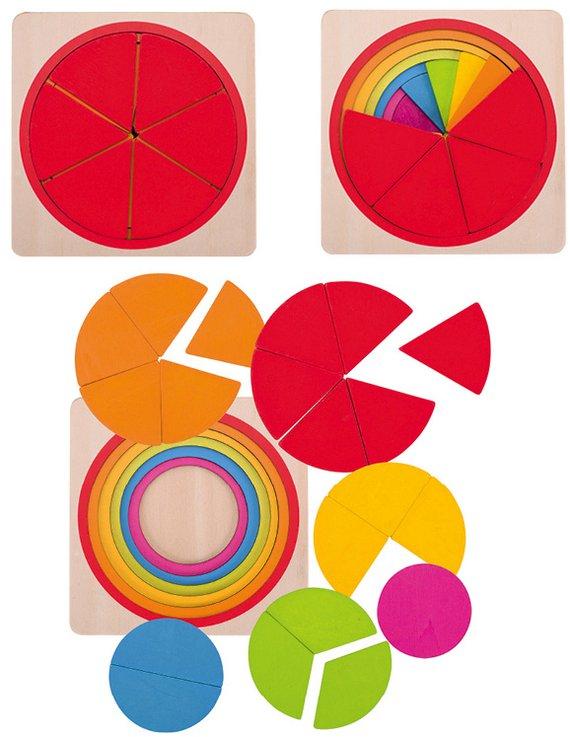 Lagenpuzzel Cirkel