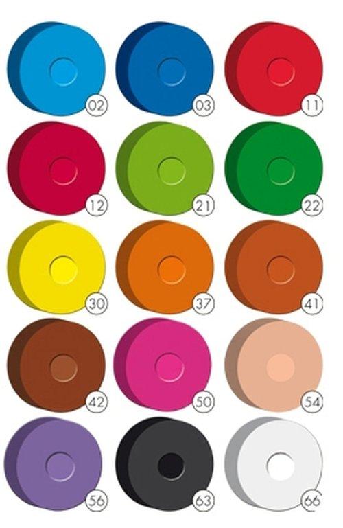 Wasserfarbenpucks Sortiment klein.