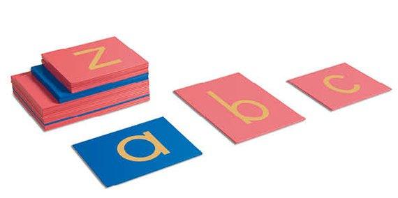 Sandpapier Buchstaben