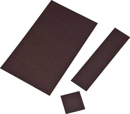 Magneetfolie in blokjes (20x20x1mm)