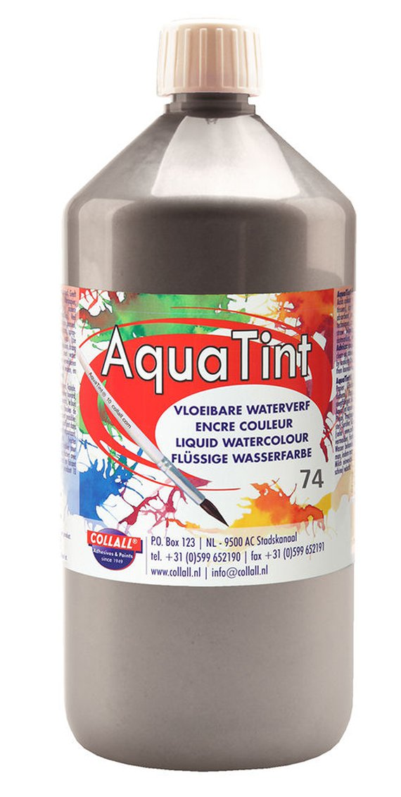 Aquatint 500 ml. Silber.