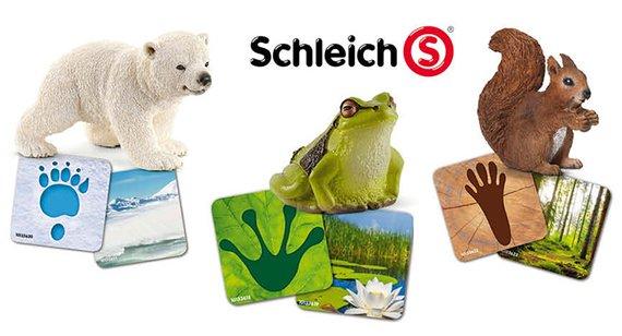 Schleich Lernkarten Wildlife