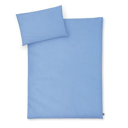Bettwäsche 2-teilig uni blue