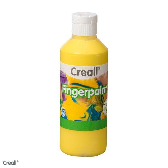 Vingerverf 750 ml geel