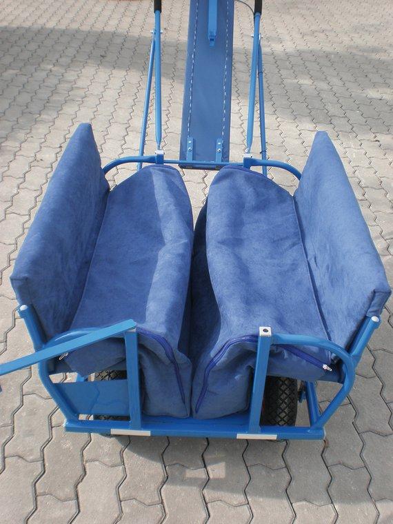 Fußsäcke (2) für Ausflugswagen