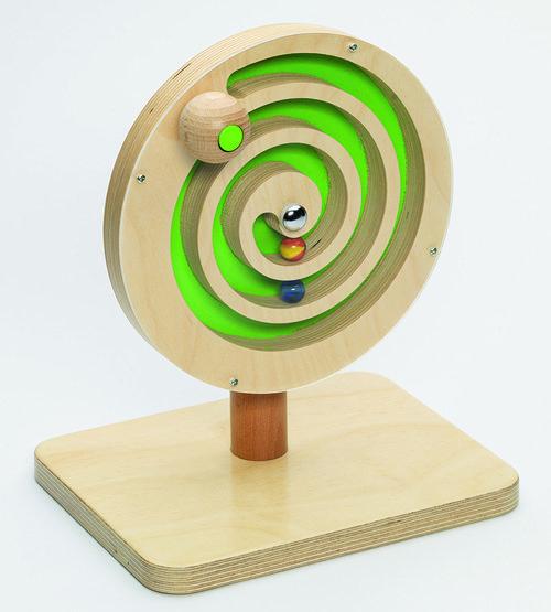 Rotating sensory spiral