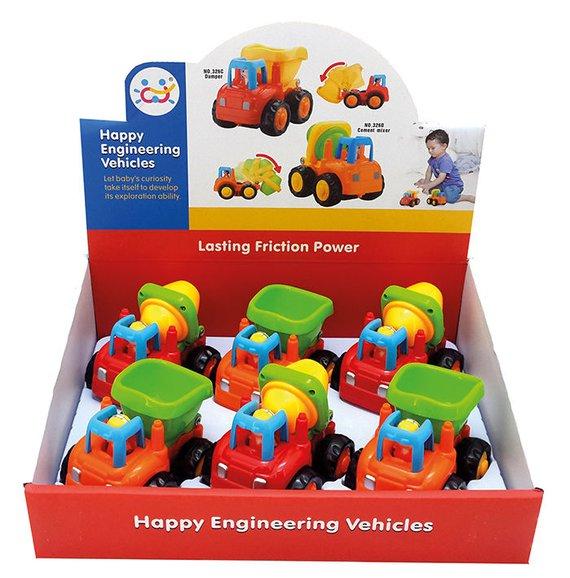 Autos met frictiemotor
