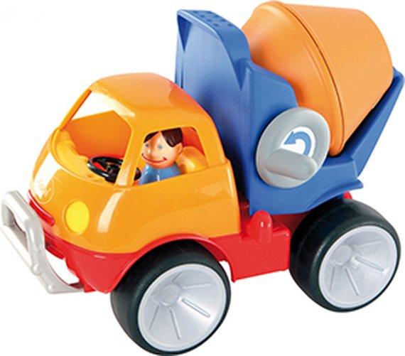 Cementwagen met softwheels