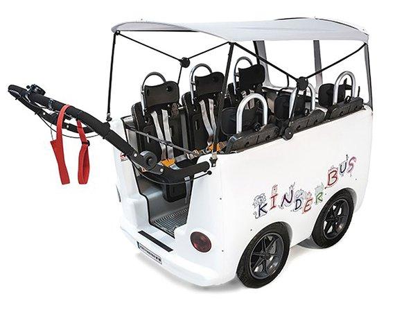 Kinderbus 4-Sitzer ohne Elektromotor