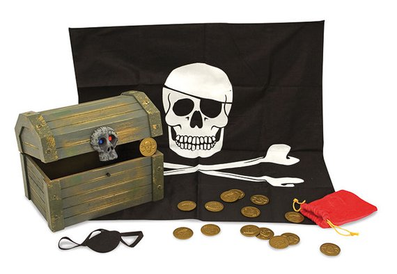 Piratenkiste Holz