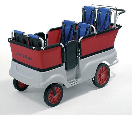 Turtle Kinderbus für 6 Personen