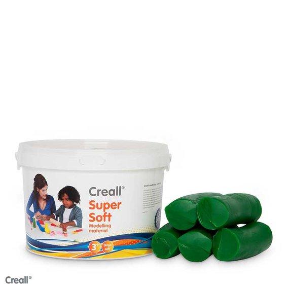 Creall-klei Supersoft 1750 gram groen