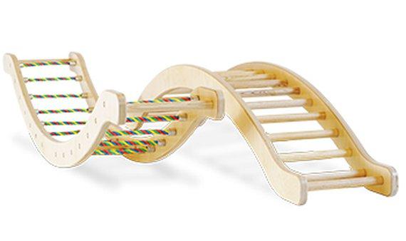Kletterwippe mit Seilsprossen