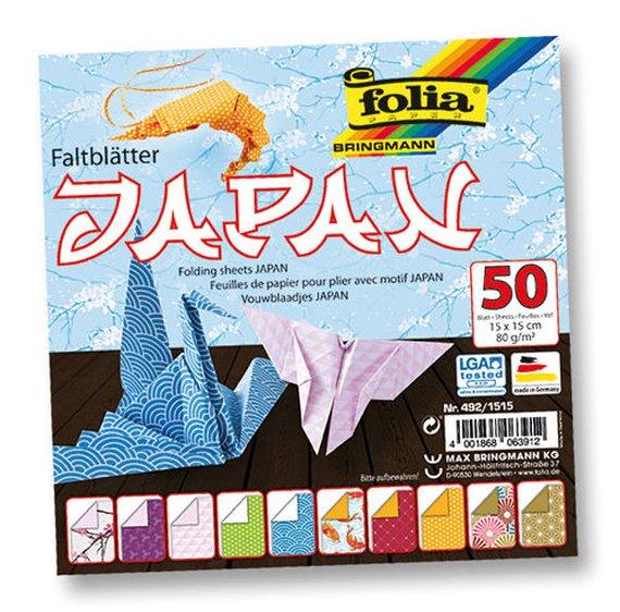 Faltblätter Japan