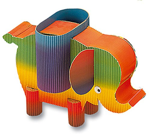 Regenbogen-Wellpappe 10 Blatt 50x70cm.