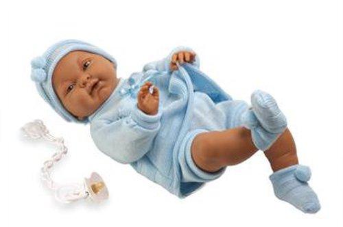 Babypop jongen donkere huid