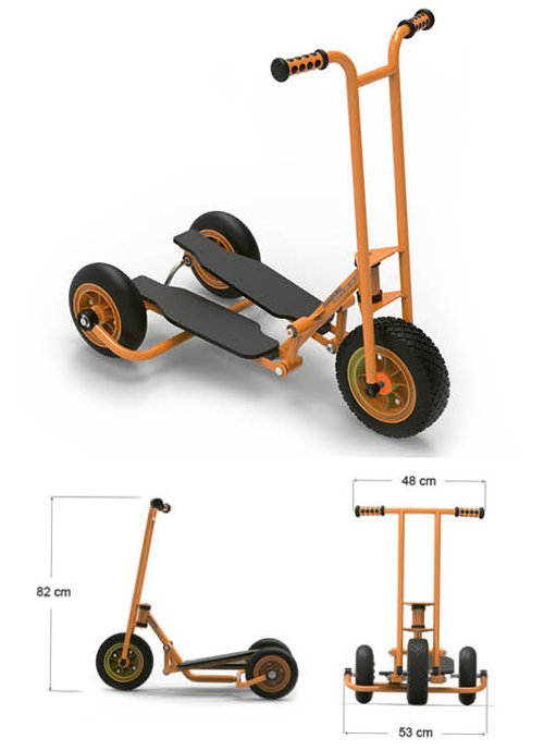 Step ´n Roll groß, Lenkerhöhe 82cm.