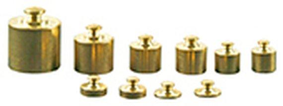 Metallgewichte-Set 10 teilig.