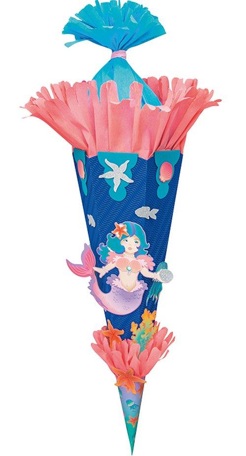 Schultüten-Motivsets Meerjungfrau